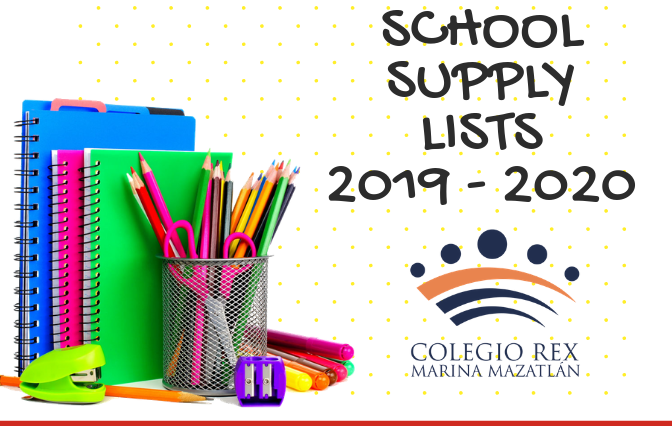 Supplies Lists 2019 - 2020